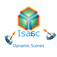 Dynamic scenes in Isaac